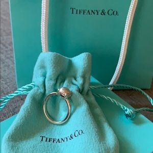 Authentic Tiffany&Co Sugar Stack Ring - 6.5